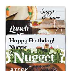 Nugget Markets Gift Cards