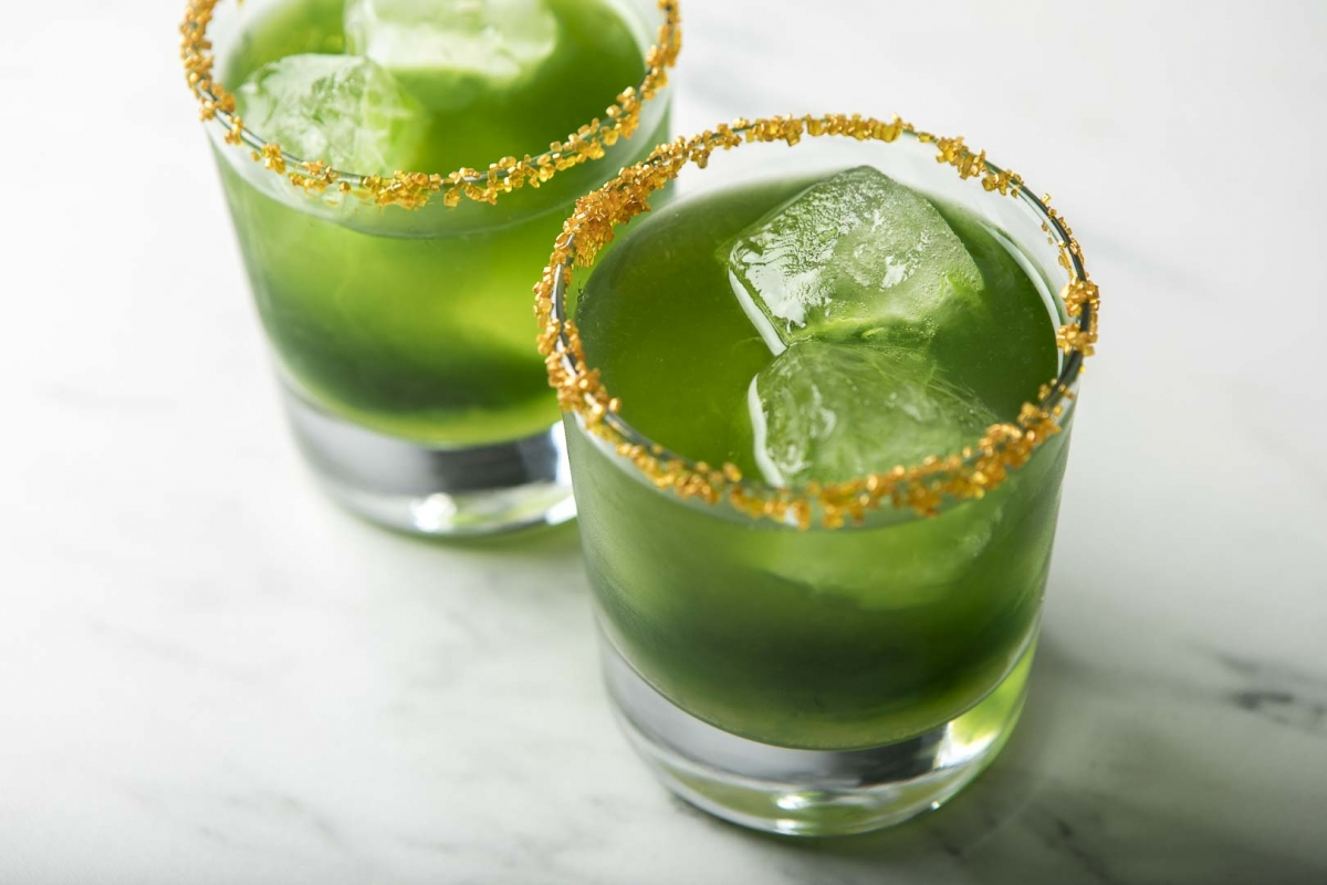 sour leprechaun cocktail